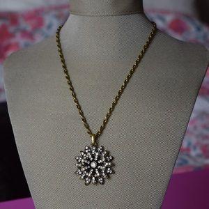 Amrita Singh Antique Gold Pendant Necklace